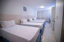 Apartamento Superior Quadruplo (quatro camas de solteiro)