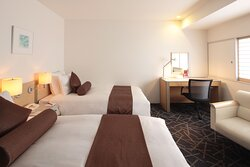 2 Single Beds Superior