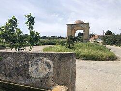 Dall'Abbeveratoio si vede l'Arco del Cavaliere !