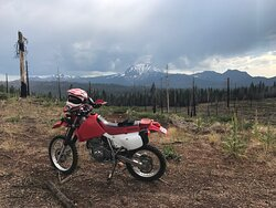 Great places to ride from Hat Creek Resort and RV