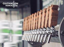 Our custom tap handles!