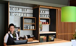 Would you like to have a cup of coffee or refreshing drink.