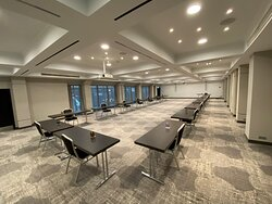 Meeting Room with Social Distance rules