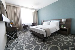 Comfortable Standard Room with Aqua Park view - King bed