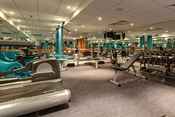 24 hour access to the fully equipped mini gym