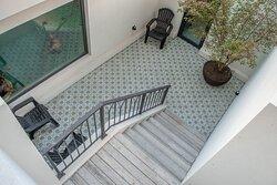 patio inglés
