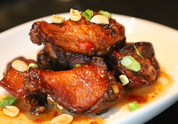 Our Asian Chicken Wings are the perfect Happy Hour snack!