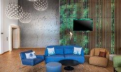 Creatively designed Open Lobby, handy for informal meetings.