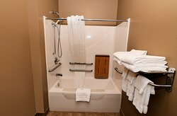 Accessible Bathroom with Benched Tub
