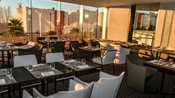 All day dining buffet, mediterranean cuisine.