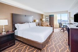 Relax after a long day of meetings in our King Bedded room