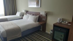 Newly refurbished accessible room