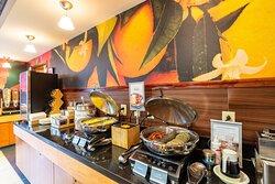 Complimentary Breakfast Buffet - Hot Items