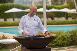 The Ofyr grill and our Executive Chef Carlo