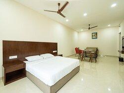 Studio Room - Deluxe bed  -  Spacious rooms
