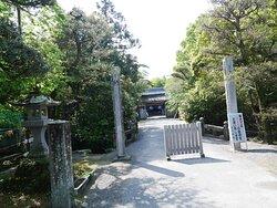 日吉神社の参道