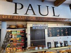 Intérieur de la boutique Paul