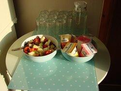 Breakfast Buffet.