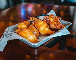 Award winning traditional wings with 25+ sauces to choose