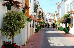 The Centro Historico de Estepona is full of charming streets and plazas