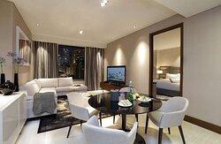 One Bedroom Suite 64sqm Lounge