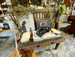 Some of our unusual items in the store.