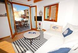 Apartamento Sant Miquel Ático sala de estar