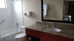 Bathroom suite with 2 Queen beds