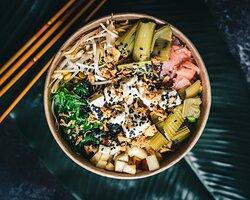 Poke de tofu