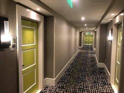 2nd floor room corridor