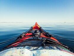 Sea kayaking expedition, Stockholm Archipelago of Sweden
