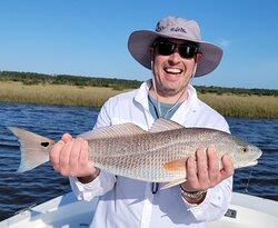 Redfish! Decent fight, no doubt!