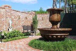 Courtyard meditation area