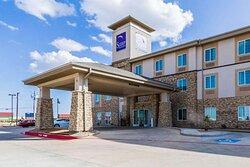 Sleep Inn and Suites, an Odessa, Texas hotel near Music City Mall