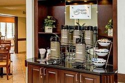 Refreshments in lobby