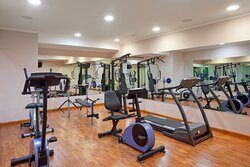 Fitness Center free for hotel's Guests