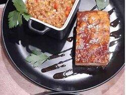 Our Asian Pork Belly.... yum!