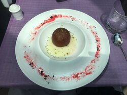 The dessert.