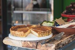 Saturday treat - custard tart