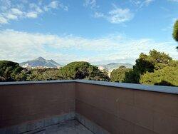 Vista su Villa Malfitano dalla torretta fotografica