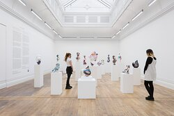 Nick Hornby, Zygotes and Confessions, installation view at MOSTYN, November 2020.