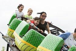 Dragon Coaster at The Castle Fun Center