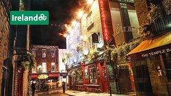 Take a trip into Dublin to discover the famous Temple Bar