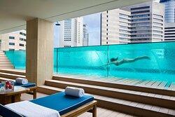 Swimming Pool of Ascott Raffles Place Singapore