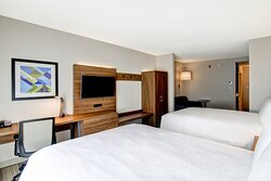 Two Queen Bed Extended Suite