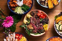 For all tastes (meat, vegan, vegetarian, fish)