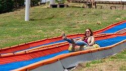 Summer tubing hill