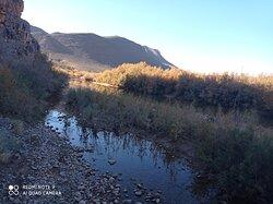 18 January, 2021.  Outskirts of Agdz city (Dra valley), Southeastern Morocco.