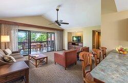 Living - Club Wyndham Kona Hawaiian Resort
