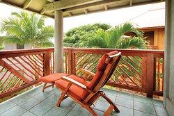 Deck - Club Wyndham Kona Hawaiian Resort